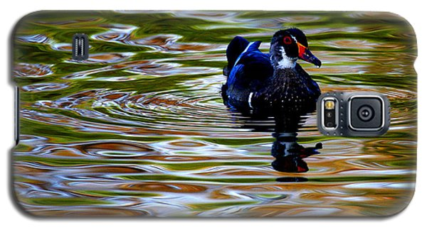 Galaxy S5 Case featuring the photograph Wood Duck Reflections by John F Tsumas