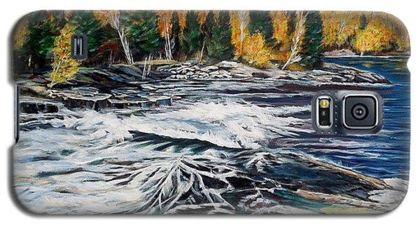 Wood Falls 2 Galaxy S5 Case by Marilyn  McNish
