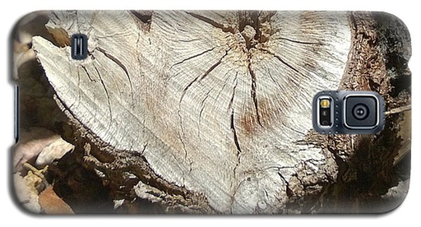 Wood Heart Galaxy S5 Case