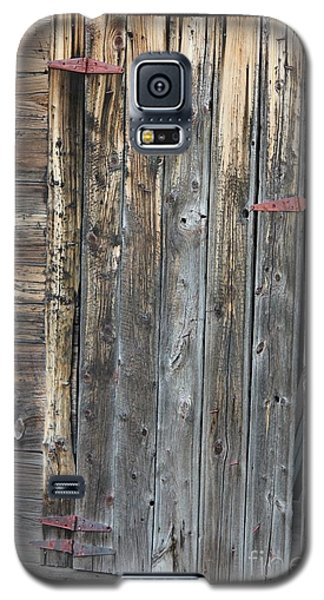 Wood Shed Door Galaxy S5 Case