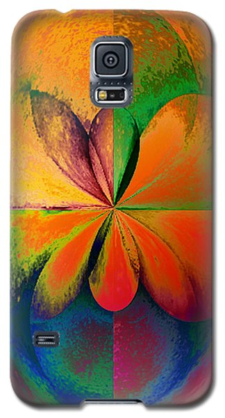Wood Study 01 Quadrant Galaxy S5 Case