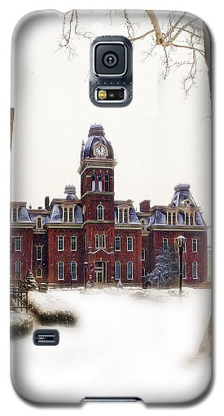 Woodburn Blowing Snow Galaxy S5 Case