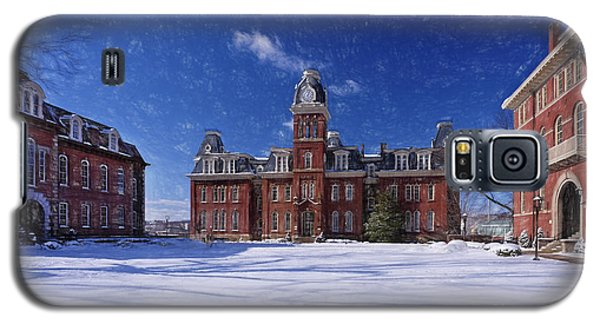 Woodburn Hall In Snow Strom Paintography Galaxy S5 Case