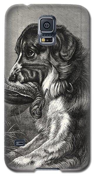 Woodcock-shooting, Hunt, Hunting, Dog Galaxy S5 Case by English School