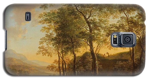 Wooded Hillside With A Vista Galaxy S5 Case by Jan Both