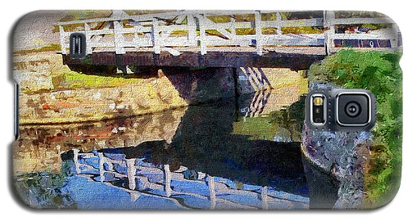 Wooden Bridge Galaxy S5 Case