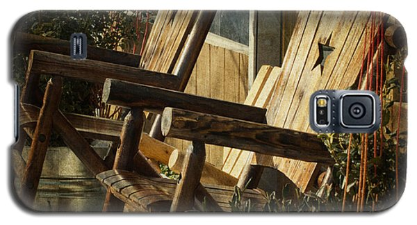 Wooden Chairs Galaxy S5 Case