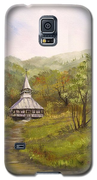 Wooden Church In Transylvania Galaxy S5 Case by Dorothy Maier