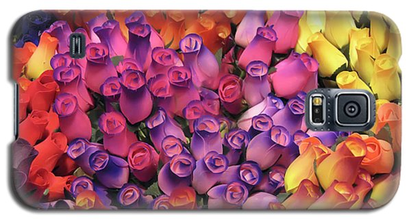Galaxy S5 Case featuring the photograph Wooden Roses by Geraldine Alexander