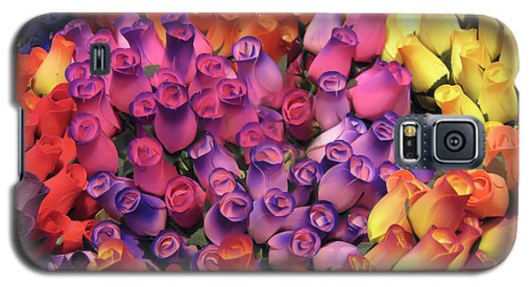 Wooden Roses Galaxy S5 Case
