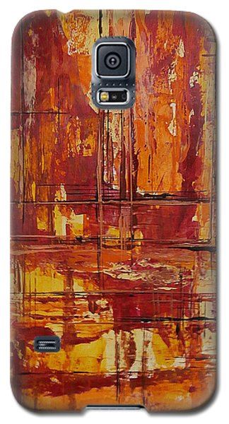 Galaxy S5 Case featuring the painting Wooden Ships by Buck Buchheister