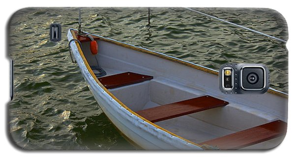 Galaxy S5 Case featuring the photograph Wooden Skiff by Amazing Jules