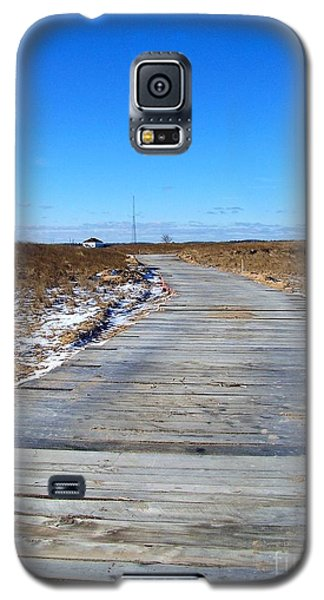 Galaxy S5 Case featuring the photograph Plum Island by Eunice Miller