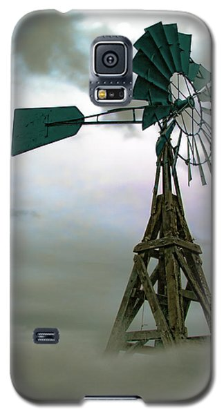 Wooden Windmill Galaxy S5 Case