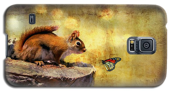 Galaxy S5 Case featuring the photograph Woodland Wonder by Lois Bryan