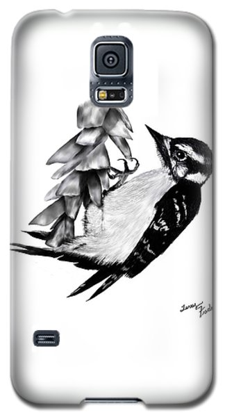 Woodpecker Galaxy S5 Case by Terry Frederick