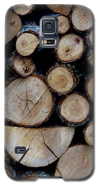 Galaxy S5 Case featuring the photograph Woods For The Fireplace 004 by Dorin Adrian Berbier