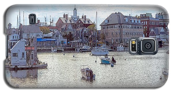 Galaxy S5 Case featuring the photograph Woods Hole Harbor by Constantine Gregory