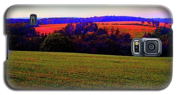 Woodstock - Farm - Yasgurs Galaxy S5 Case by Susan Carella