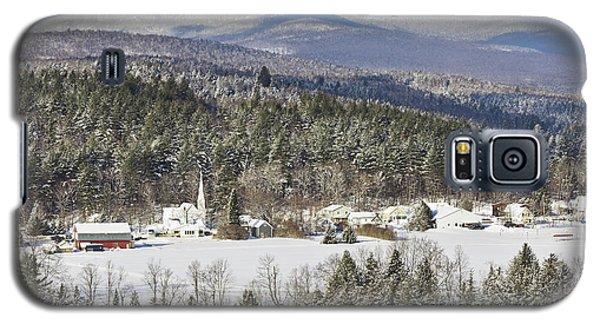 Worcester Vermont Winter Galaxy S5 Case by Alan L Graham