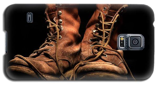 Work Boots Galaxy S5 Case by Christopher McKenzie
