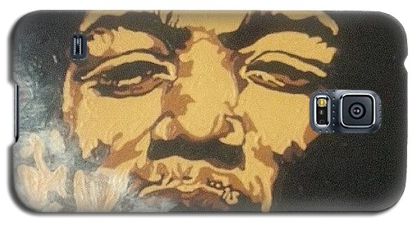 Music Galaxy S5 Case - Jimi Hendrix by Rachel Natalie Rawlins