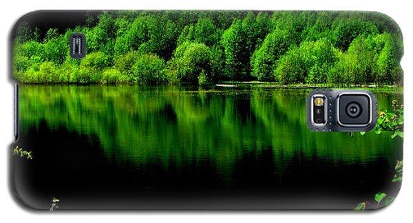 Work In Green Galaxy S5 Case by Greg Patzer