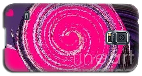 Galaxy S5 Case featuring the digital art Work Of Art by Catherine Lott