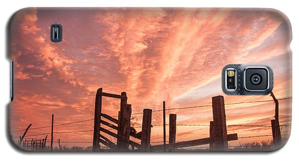 Working Cattle/ End Of Day Galaxy S5 Case
