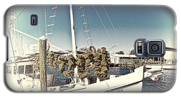 Working Sponge Boat Galaxy S5 Case by Bill Barber