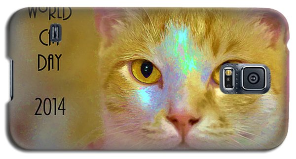 World Cat Day Galaxy S5 Case