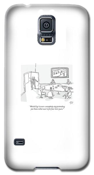 Sport Art Galaxy S5 Case - World Cup by Farley Katz