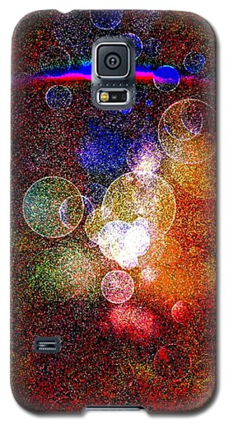Galaxy S5 Case featuring the digital art World Explosion By Nico Bielow by Nico Bielow