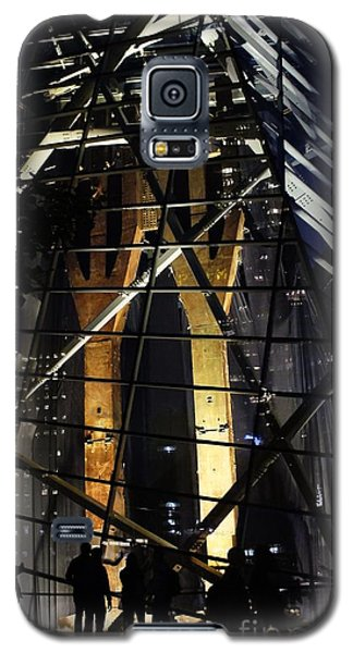 World Trade Center Museum At Night Galaxy S5 Case