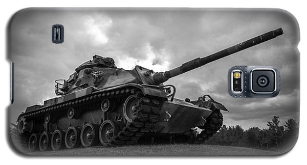 World War II Tank Black And White Galaxy S5 Case