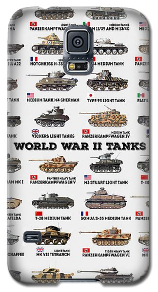 World War II Tanks Galaxy S5 Case