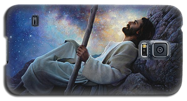 Religious Galaxy S5 Case - Worlds Without End by Greg Olsen