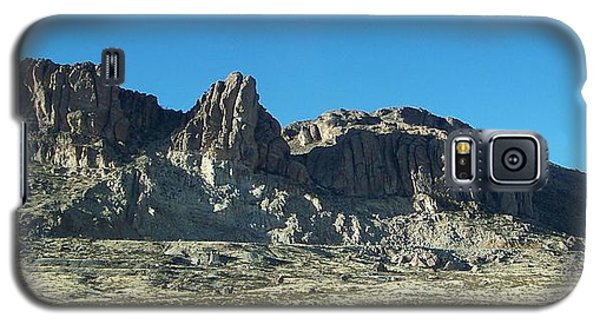 Galaxy S5 Case featuring the photograph Western Landscape by Eunice Miller