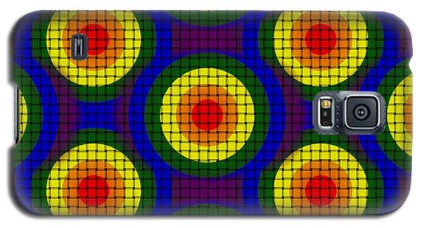 Woven Circles Galaxy S5 Case by Bartz Johnson