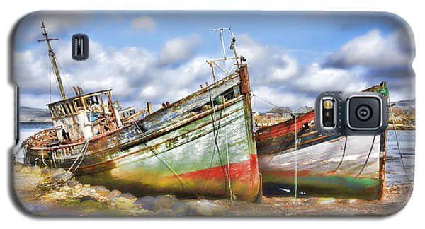 Wrecked Boats Galaxy S5 Case by Craig B