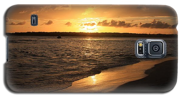 Galaxy S5 Case featuring the photograph Wrightsville Beach Sunset - North Carolina by Mountains to the Sea Photo