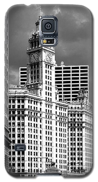 Wrigley Building Chicago Illinois Galaxy S5 Case by Christine Till