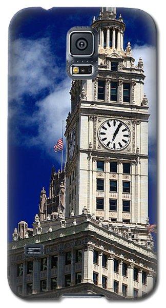 Wrigley Building Clock Tower Galaxy S5 Case