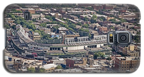 Wrigley Field - Home Of The Chicago Cubs Galaxy S5 Case by Adam Romanowicz