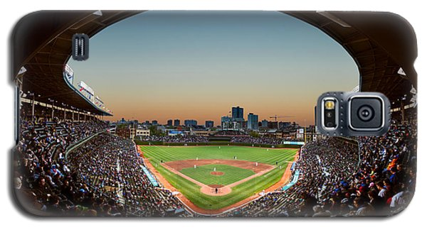 Wrigley Field Night Game Chicago Galaxy S5 Case