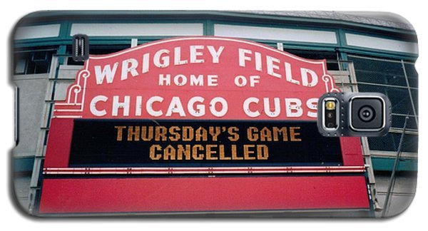 Wrigley Field Weeps For America Galaxy S5 Case by Sheri Keith