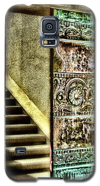Wrigley's Tower Bronze Doors By Diana Sainz Galaxy S5 Case