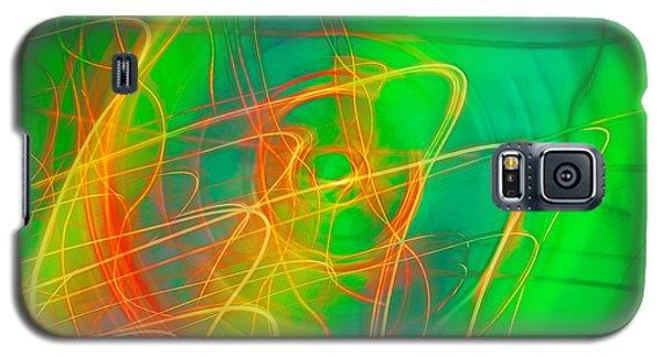 Write Light Rainbow Galaxy S5 Case