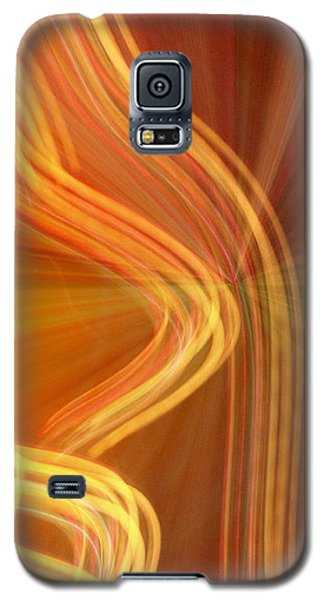 Write Light Shapes Galaxy S5 Case