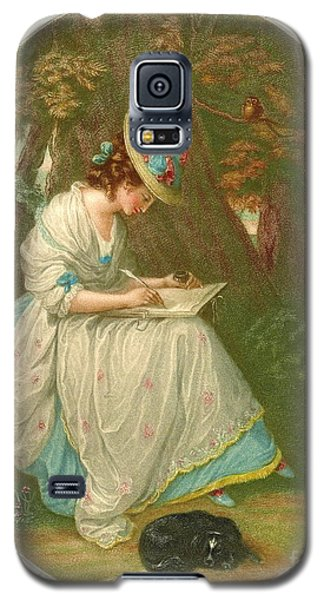 Writing Poetry 1781 Galaxy S5 Case